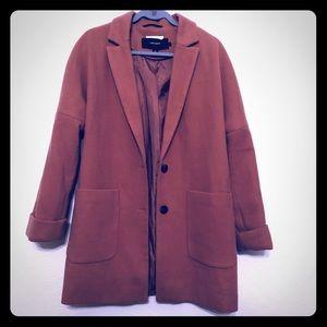 Vera Moda Fall Coat - Peach